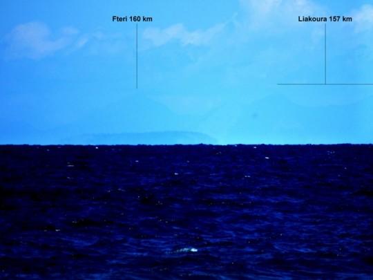 2 (Fteri 160 km max, Liakoura 157 km)