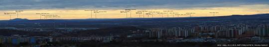 Panorama Brno-Hady